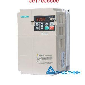 biến tần veichi vào 1 pha 220V ra 3 pha 380V 5hp