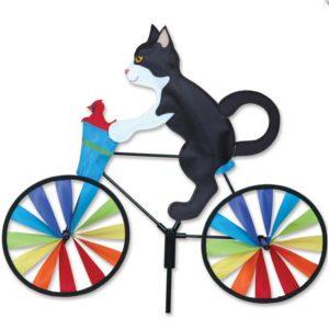 20 in. Bike Spinner - Tuxedo Cat