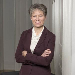 Jenny Ågren på Adolf Lindgrens stiftelse