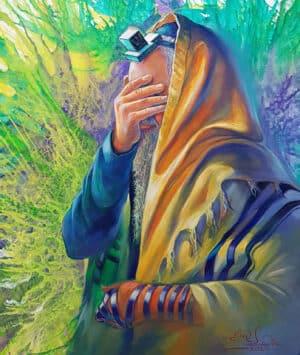 shema israel praying jew