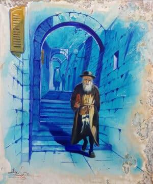 Tzfat Safed painting