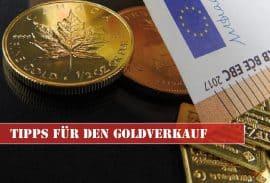 Gold, Gold verkaufen, Goldmünzen, Bargeld (Foto: Goldreporter)