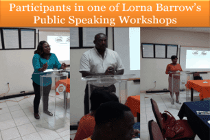 image showing small business public speaking training