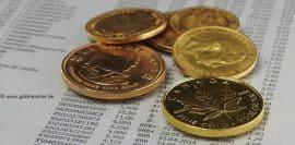 Gold, Goldpreis, Goldmünzen, Anleihen (Foto: Goldreporter)