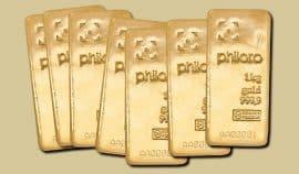 Gold, Goldbarren, Philoro