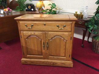 Pennsylvania House Oak Flip Top Server
