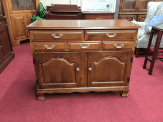 Hale Furniture Maple Server
