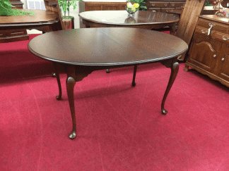 Vintage Hitchcock Cherry Dining Table