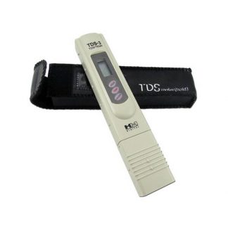 TDS meter, water testing PPM parts per million