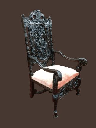 antique gothic chair