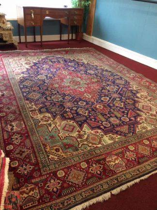 vintage tabriz rug