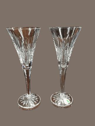 crystal stemware