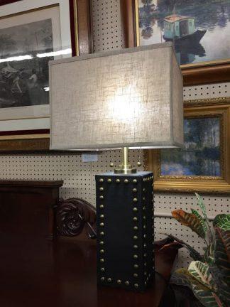 studded lamp