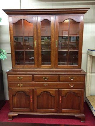 Hitchcock Cherry Hutch Cabinet