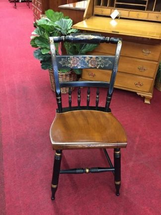 Cherry Hitchcock Stenciled Chair