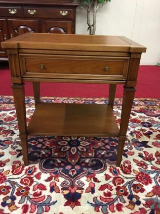 White Furniture Cherry End Table