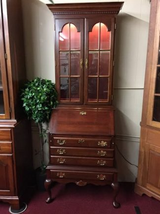 Colonial Furniture Cherry Secretary Desk