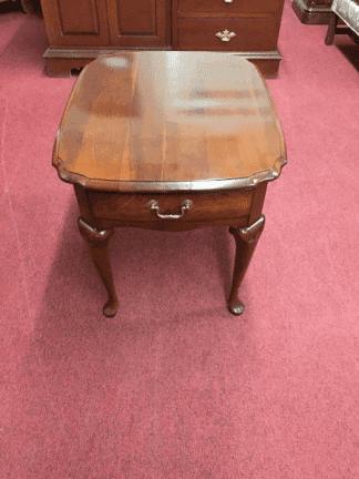 Pennsylvania House Scalloped End Table