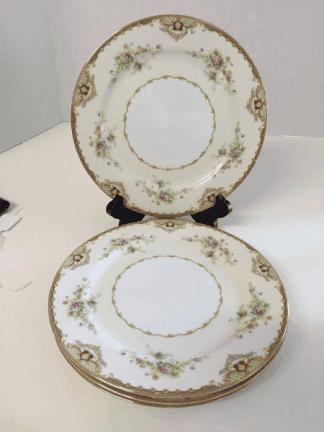 Empress China Dinner Plates (Set of Four)
