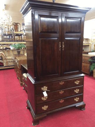 Vintage Statton Gentleman's Armoire