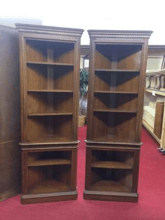 Vintage Pennsylvania House Corner Shelves