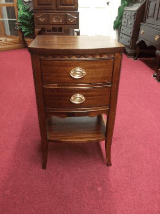 Vintage Mahogany Nightstand by Hickory Mfg