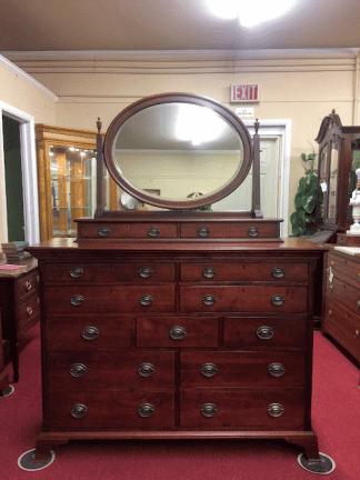 Durham Cherry Dresser with Mirror