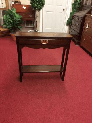 Vintage Mahogany Sofa Table
