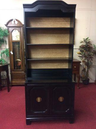 Vintage Davis Furniture Oriental Style Bookcase