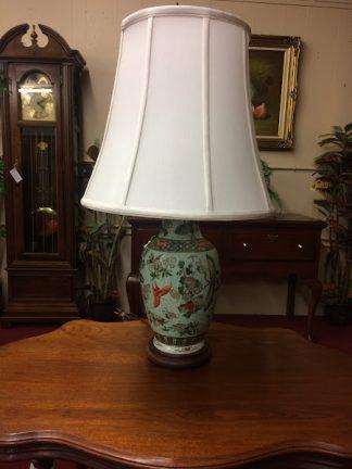 Vintage Satsuma Style Lamp