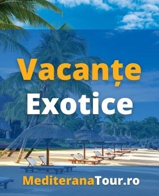Rezervari vacante exotice. Sejur exotic in destinatii de vis.
