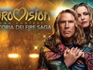 eurovision la storia dei fire saga film netflix