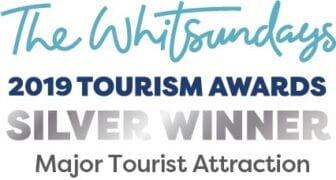 2019 Whitsunday Tourism Awards - Silver Winner - Major Tourist Attraction