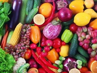 Whole fruit and vegetables