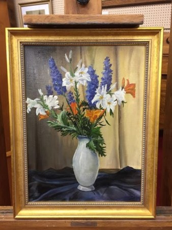 Floral Still Life by Arlene Wise