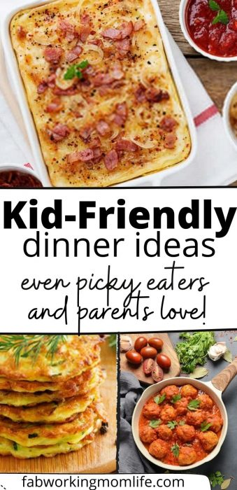 kid-friendly dinner ideas