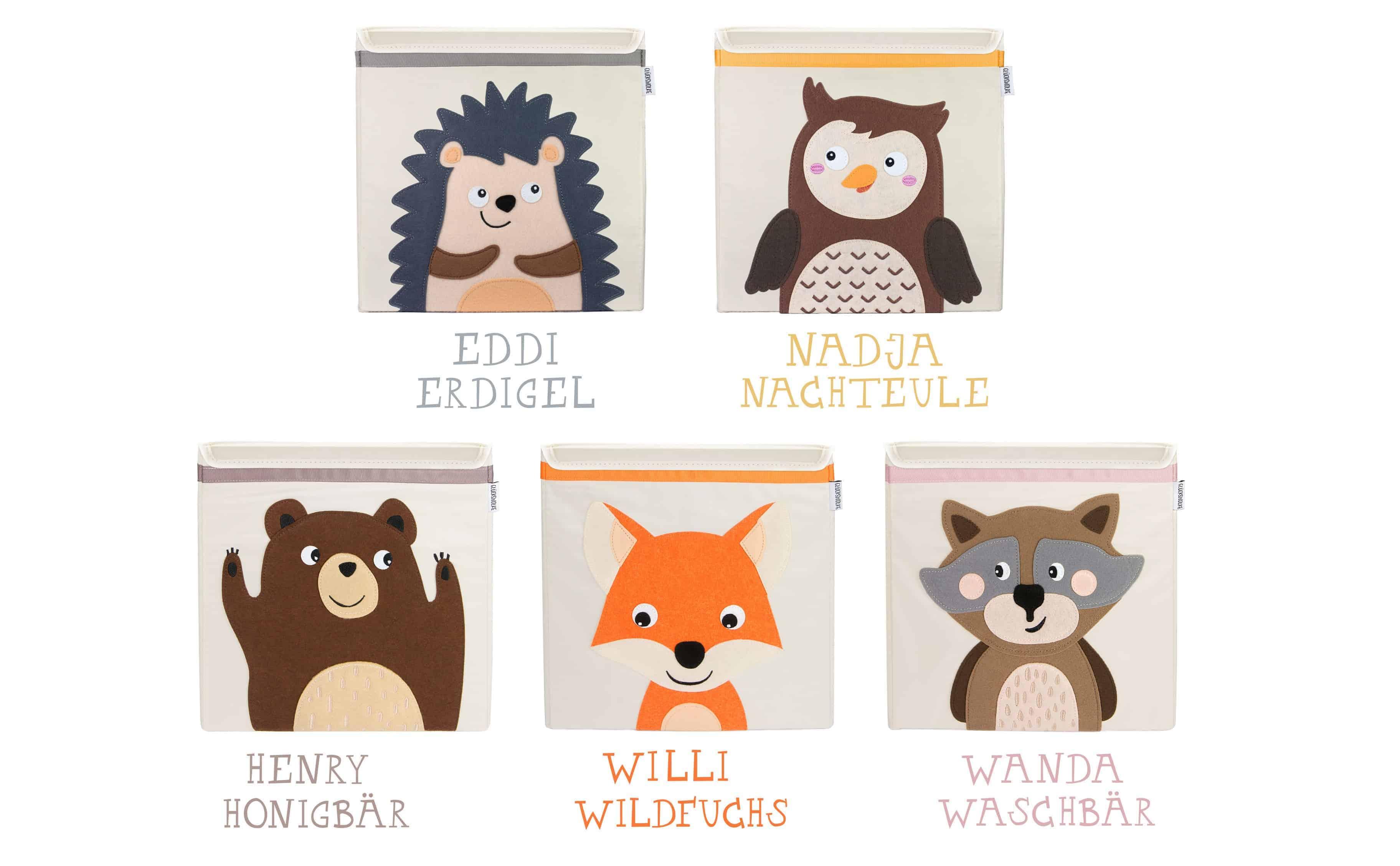 Glückswolke Aufbewahrungsbox Kinder Spielzeugkiste Box Kallax Kiste Spielzeug Kinderzimmer