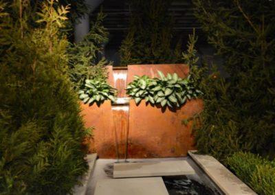 Innovative fountain and landscape design