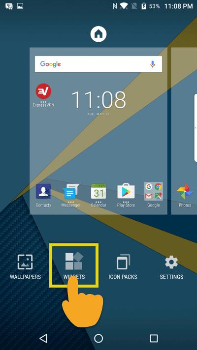 tap-widgets