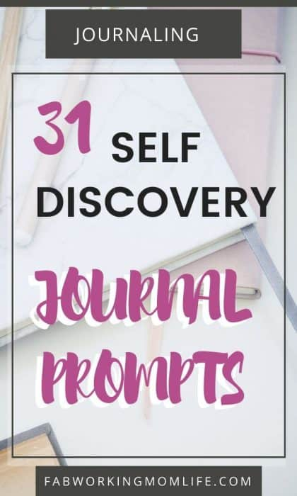 31 self-discovery journal prompts