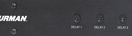 Furman M-8S Power Sequence Delay Indicator Light