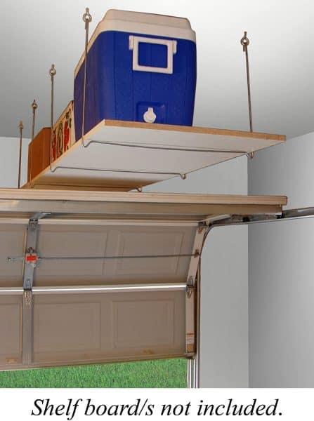 quick shelf overhead garage storage