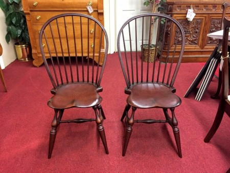Tubb Furniture Bow Back Windsor Chairs