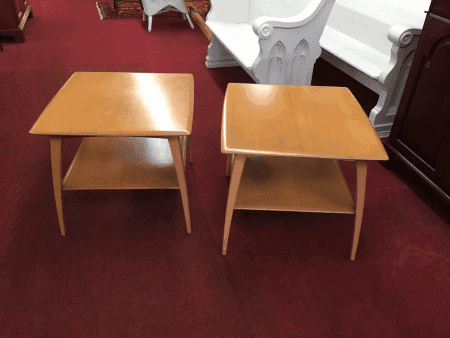 Heywood Wakefield End Tables - A Pair
