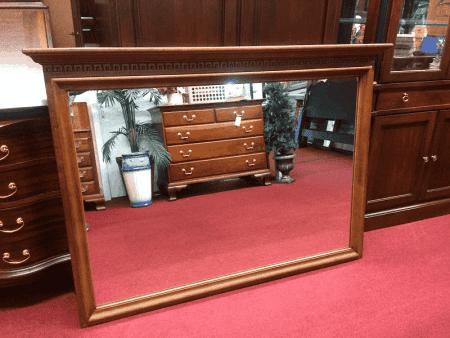 Vintage Kling Maple Mirror