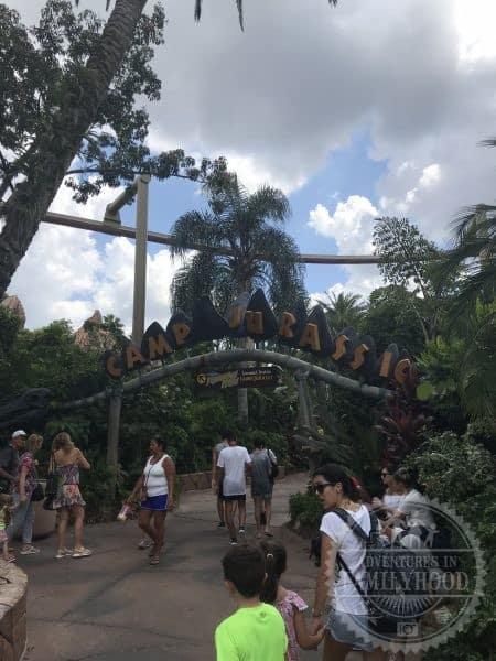 Camp Jurassic Play Area Universal's Islands of Adventure