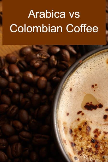 Colombian vs Arabica Coffee