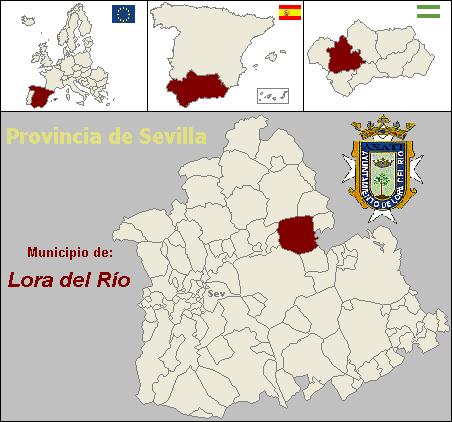 Mapa Provincia de Sevilla