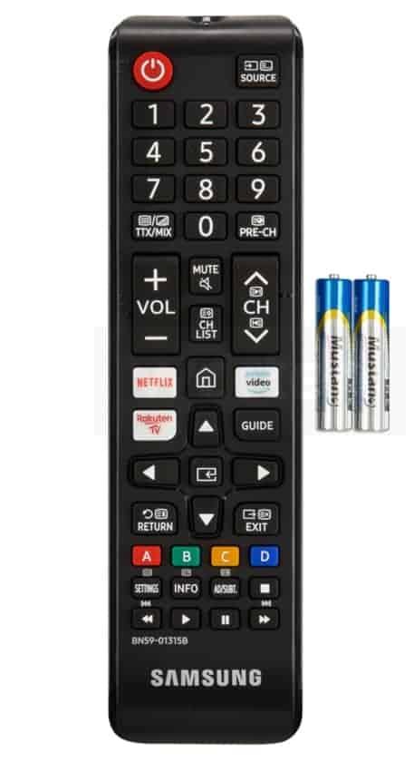 Mando a distancia Samsung serie 7 Crystal UHD