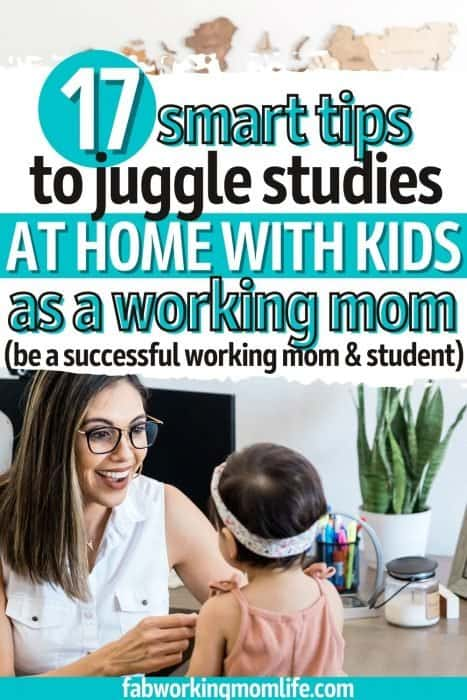 How to Be a Successful Working Mom and Student